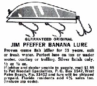 Pat Woodall Jim Pfeffer Banana Advertisement