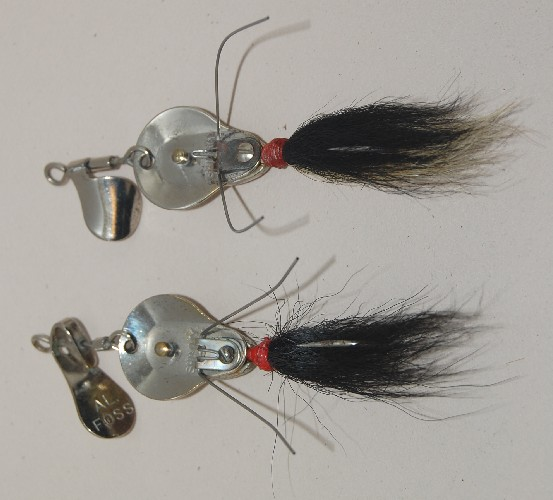 Uncle josh split tail trailer pork rind baits images frompo for Pork rind fishing