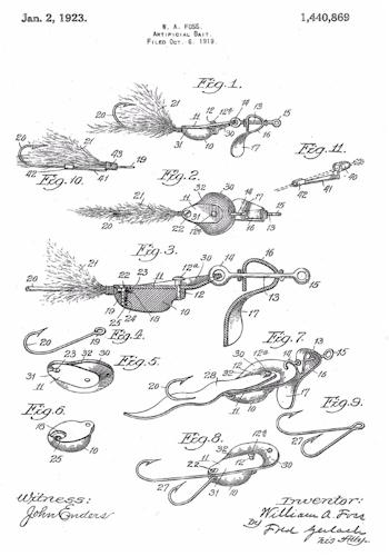 al foss & true temper fishing lures - joe's old lures, Hard Baits