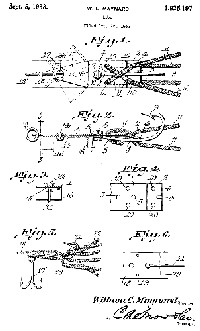 William Maynard Fishing Lure Patent Assigned to Al Foss