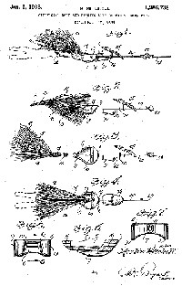 Merlin Mitchell Fishing Lure Patent Assigned to True Temper