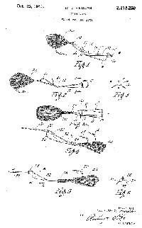 William R. Finucan Fishing Lure Patent Assigned to Al Foss