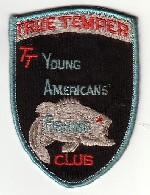 True Temper Young Americans Fishing Club Patch