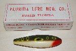 Garvin Brothers lure Florida lure mfg co Eustis Florida