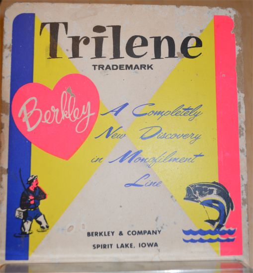 Berkley & Company - Trilene Line store display - Click Image to Close